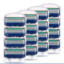 ジレット フュージョン 5 替刃 16個set Gillette Fusion 互換品 5枚歯 かみそり 剃刀 替え刃 ヘッド