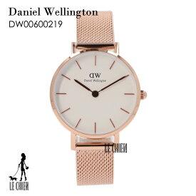 \最安値挑戦中/【新品】DANIELWELLINGTON ダニエルウェリントン 腕時計 レディース DW00600219 ホワイト ローズゴールド 127340