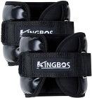 送料無料 KINGBOS アンクルウェイト リストウェイト 筋トレ  2kg  2個セット パワーアンクル リストバンド