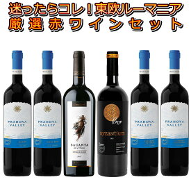 迷ったらこれ!!知る人ぞ知る隠れた銘醸地東欧ルーマニアの厳選赤ワイン6本セット!ルーマニアの土着品種を使用した黒ワインも含む!