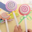 【配送方法:メール便】CANDY STONE 軽石 ピンク キャンディーストーン 飴型軽石 バスグッズ ペロペロキャンディー …