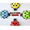 【あす楽対応】てんとう虫キッチンタイマー ladybug Kitchen Timer ダイヤルタイマー 電池不要 アナログタイマー クッ…