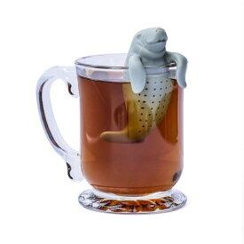【メール便】 マナティー型シリコンティーストレーナー Tea Strainer ティーインフューザー Infusers 茶漉し シリコンティーバッグ ろ過器 エコ eco レターパックプラス対応