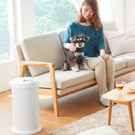 Ubbi(ウッビー)インテリアおむつペール 柵用 犬用 猫用 消臭ゴミ箱 ふた付き ゴミ箱 トイレ
