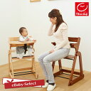日本育児 たためる木製スマートハイチェア3 セーフガード・テーブル付き ベビーチェア 子供 大人