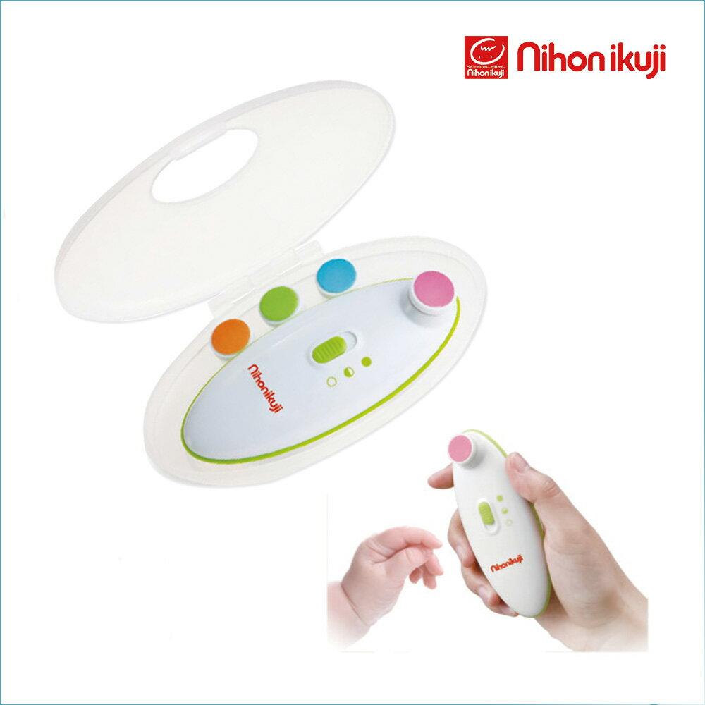 赤ちゃんを起こさず電動で爪切り!日本育児 爪やすり ネイルケアセット