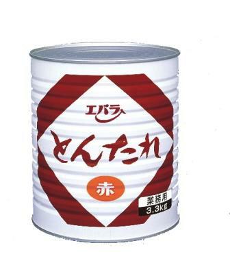 【在庫限り】【業務用】エバラ とんたれみそ【赤】3.3kg漬込の場合、1缶3.3kgで生肉13〜22kg目安