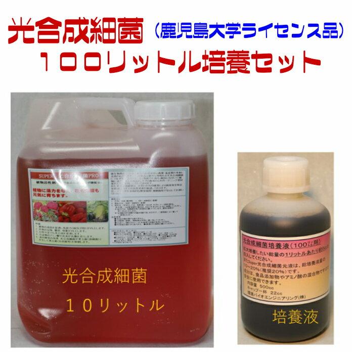 光合成細菌 100リットル培養セット