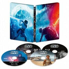 スター・ウォーズ/スカイウォーカーの夜明け 4K UHD MovieNEX スチールブック(数量限定)(4K ULTRA HD+3Dブルーレイ+ブルーレイ)