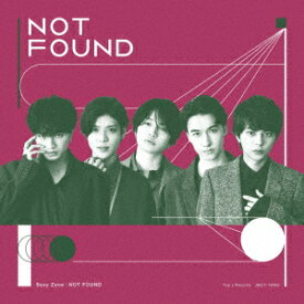 Sexy Zone/NOT FOUND(初回限定盤A)(DVD付)