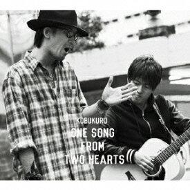 コブクロ/One Song From Two Hearts(初回限定盤)(DVD付)
