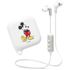 PGA PG-BTE1SD02MKY(ミッキーマウス/ホワイト) Disney ワイヤレスステレオイヤホン