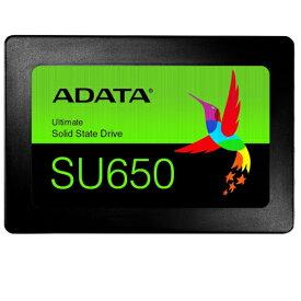 ADATA Technology ASU650SS-480GT-R Ultimate SU650 3D NANDフラッシュ採用 2.5インチSSD 480GB