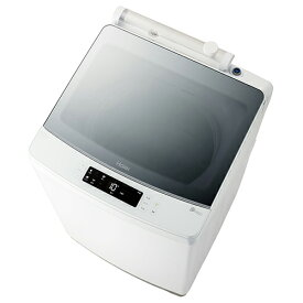 【設置】ハイアール JW-KD85A-W(ホワイト) 全自動洗濯機 上向 洗濯8.5kg/風乾燥3kg