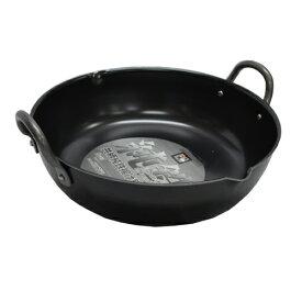 ベストコ プロスタッフ 共柄純鉄 揚げ鍋 30cm ND-2063