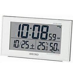 SEIKO SQ758W 電波目覚まし時計