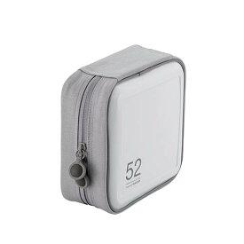 エレコム CCD-H52WH(ホワイト) CD/DVDファスナーケース 52枚