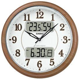 CASIO ITM-900FLJ-5JF(濃茶木調) 電波掛け時計