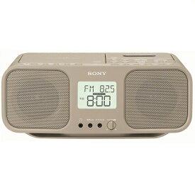 SONY ソニー CDラジオカセットレコーダー CFD-S401 TIC ベージュ 電池駆動対応 CD-R/RW対応