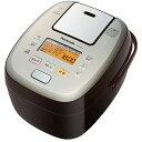 パナソニック SR-PA107-T(ブラウン) 可変圧力おどり炊き 可変圧力IHジャー炊飯器 5.5合