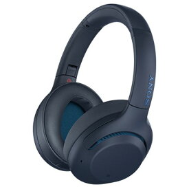 ソニー WH-XB900N-L(ブルー) ワイヤレスノイズキャンセリングステレオヘッドセット