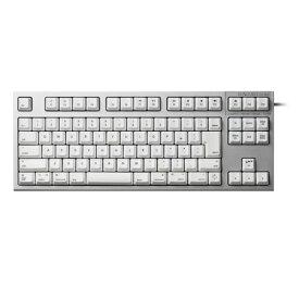東プレ R2TLSA-JP3M-WH(シルバー/白) REALFORCE TKL for Mac 日本語91配列 ALL30g 静音/APC