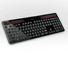 ロジクール k750r ワイヤレス ソーラー キーボード