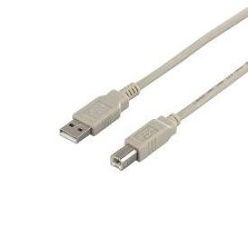 バッファロー BSUAB220IV(アイボリー) USB2.0ケーブル A to B 2m