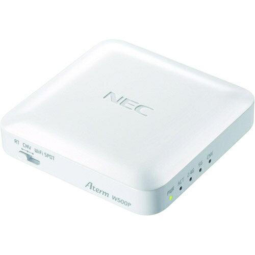NEC PA-W500P-W(ホワイト) AtermW500P Wi-Fiポータブルルーター IEEE802.11ac/n/a/g/b
