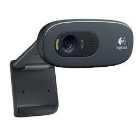 ロジクール C270 グレー&ブラック HD Webcam