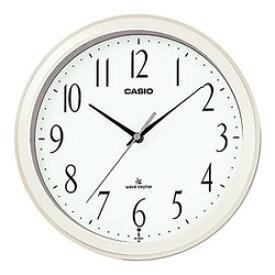 CASIO IQ-1060J-7JF 電波掛け時計 パールホワイト