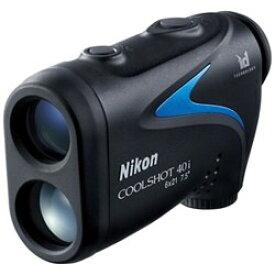 ニコン Nikon 携帯型レーザー距離計 COOLSHOT 40i 測定範囲(7.5〜590m/8〜650yds.)/近距離優先アルゴリズム/生活防水構造