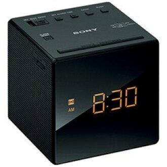 索尼ICF-C1-B(黑色)时钟收音机