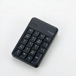 エレコム TK-TBM016BK(ブラック) Bluetooth ワイヤレステンキーパッド
