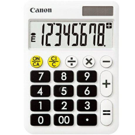 CANON LF-80 くっきりはっきり電卓 8桁