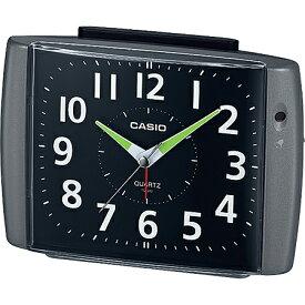 CASIO TQ-382-1JF(ブラックメタリック) 目覚まし時計