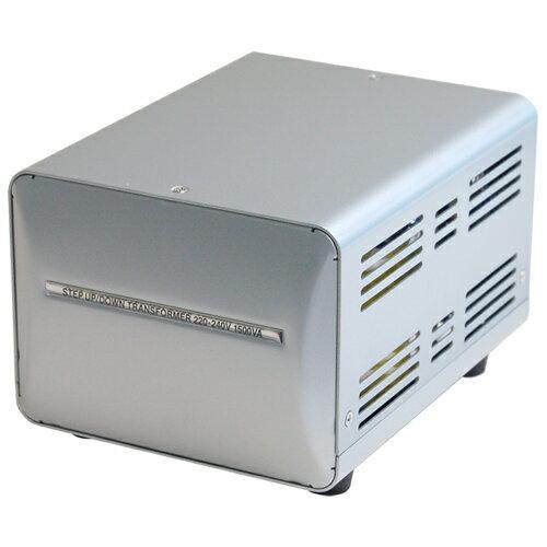 カシムラ 海外国内用薄型変圧器220-240V/1500VA NTI-20