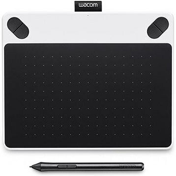 ワコム CTL-490/W0(ホワイト) Intuos Draw small