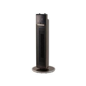コイズミ KHF-1295-T(ブラウン) ホット&クール DCプレミアムタワーファン リモコン付