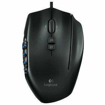 ロジクール Logicool G600T(ブラック) MMO Gaming Mouse USB接続 レーザー 20ボタン G600T e-sports(eスポーツ) ゲーミング(gaming)