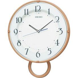 セイコー PH206A(薄茶木目模様) 電波掛け時計