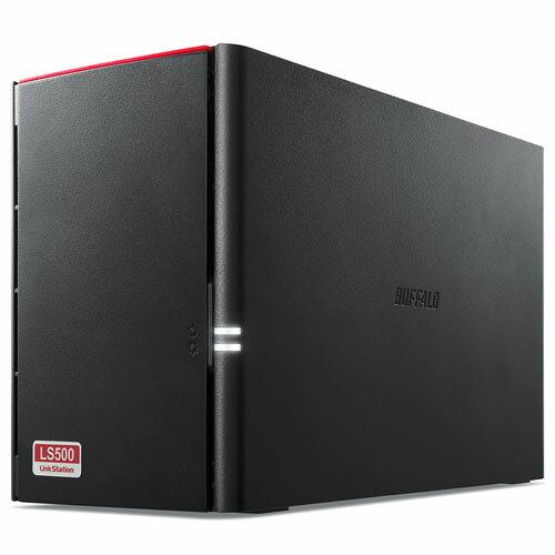 バッファロー LS520D0802 LinkStation(リンクステーション) ネットワークHDD 8TB 2ベイ