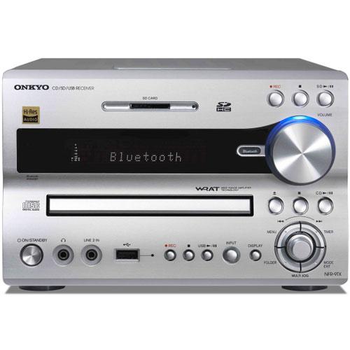 ONKYO NFR-9TX-S(シルバー) CD/SD/USBレシーバー FRシリーズ ハイレゾ対応