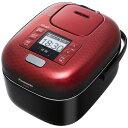 パナソニック SR-JX056-K(豊穣ブラック) おどり炊き 可変圧力IHジャー炊飯器 3合