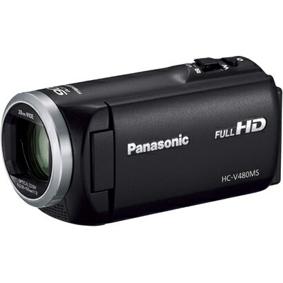 Panasonic(パナソニック) デジタルハイビジョンビデオカメラ(ブラック) 32GB HC-V480MS-K