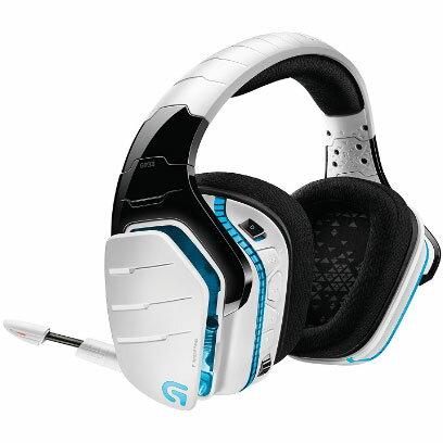 ロジクール G933rWH(ホワイト) Artemis Spectrum Snow ワイヤレス7.1サラウンド ゲーミング ヘッドセット
