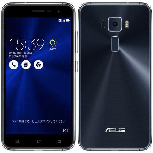 ASUS ZE520KL-BK32S3(サファイアブラック) ZenFone 3 SIMフリー LTE対応 32GB