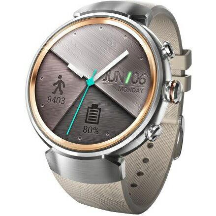 ASUS WI503Q-RGR04(シルバー/ベージュ) ZenWatch 3 腕時計タイプ