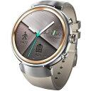 【長期保証付】ASUS WI503Q-RGR04(シルバー/ベージュ) ZenWatch 3 腕時計タイプ