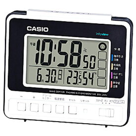 668c4f8019 CASIO DQL-250J-7JF 電波目覚まし時計 DQL250J7JFポータブル 熱中症対策 アウトドア 外出